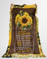 "BIG HUG - AMAZING GIFT FOR DAUGHTER Large Fleece Blanket - 60"" x 80"" aos-coral-fleece-blanket-60x80-lifestyle-front-10"