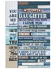 YOU ARE MY SUNSHINE - TO DAUGHTER FROM DAD 11x17 Poster thumbnail