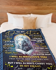 """I WILL ALWAYS LOVE YOU - GREAT GIFT FOR DAUGHTER  Large Fleece Blanket - 60"""" x 80"""" aos-coral-fleece-blanket-60x80-lifestyle-front-02"""