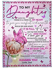 """BELIEVE IN YOURSELF - LOVELY GIFT FOR DAUGHTER  Large Fleece Blanket - 60"""" x 80"""" front"""