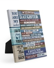 1 DAY LEFT - GET YOURS NOW Easel-Back Gallery Wrapped Canvas tile