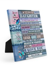 FIND SOMETHING GOOD IN EVERY DAY Easel-Back Gallery Wrapped Canvas tile