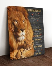 BELIEVE IN YOURSELF - BEST GIFT FOR DAUGHTER 11x14 Gallery Wrapped Canvas Prints aos-canvas-pgw-11x14-lifestyle-front-17