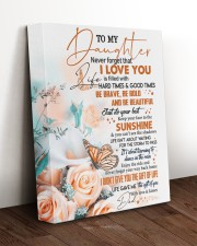 THE GIFT OF LIFE - TO DAUGHTER FROM DAD 11x14 Gallery Wrapped Canvas Prints aos-canvas-pgw-11x14-lifestyle-front-17
