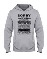 LOVES ME UNCONDITIONALLY - BEST GIFT FOR DAUGHTER Hooded Sweatshirt front