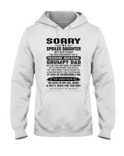 LOVES ME UNCONDITIONALLY - BEST GIFT FOR DAUGHTER Hooded Sweatshirt tile