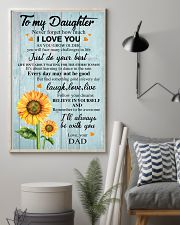 I LOVE YOU - TO DAUGHTER FROM DAD 11x17 Poster lifestyle-poster-1