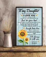 I LOVE YOU - TO DAUGHTER FROM DAD 11x17 Poster lifestyle-poster-3