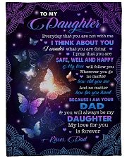 """MY LOVE FOR YOU IS FOREVER - GIFT FOR DAUGHTER Large Fleece Blanket - 60"""" x 80"""" front"""