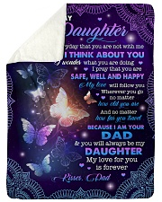 MY LOVE FOR YOU IS FOREVER - GIFT FOR DAUGHTER Sherpa Fleece Blanket tile
