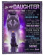 I BELIEVE IN YOU - SPECIAL GIFT FOR DAUGHTER Fleece Blanket tile