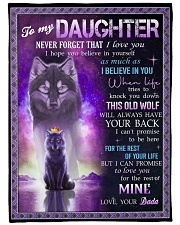 """I BELIEVE IN YOU - SPECIAL GIFT FOR DAUGHTER Large Fleece Blanket - 60"""" x 80"""" front"""