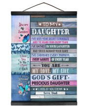 I LOVE YOU TO THE MOON AND BACK Hanging Canvas tile