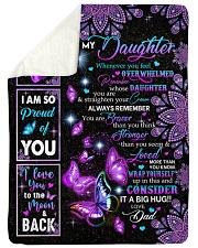 CONSIDER IT A BIG HUG - BEST GIFT FOR DAUGHTER Sherpa Fleece Blanket tile