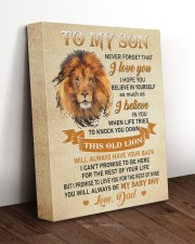 BELIEVE IN YOURSELF - AMAZING GIFT FOR SON 11x14 Gallery Wrapped Canvas Prints aos-canvas-pgw-11x14-lifestyle-front-17