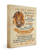 BELIEVE IN YOURSELF - AMAZING GIFT FOR SON 11x14 Gallery Wrapped Canvas Prints front