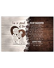 I'M SO PROUD OF YOU - LOVELY GIFT FOR DAUGHTER 17x11 Poster thumbnail