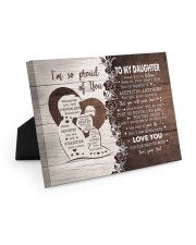 I'M SO PROUD OF YOU - LOVELY GIFT FOR DAUGHTER 10x8 Easel-Back Gallery Wrapped Canvas thumbnail
