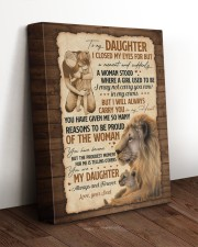 CARRY YOU IN MY HEART - GREAT GIFT FOR DAUGHTER 11x14 Gallery Wrapped Canvas Prints aos-canvas-pgw-11x14-lifestyle-front-17