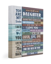 I LOVE YOU - GREAT GIFT FOR DAUGHTER 11x14 Gallery Wrapped Canvas Prints front