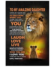 BELIEVE IN YOURSELF - LOVELY GIFT FOR DAUGHTER 11x17 Poster thumbnail