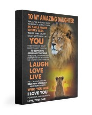 BELIEVE IN YOURSELF - LOVELY GIFT FOR DAUGHTER 11x14 Gallery Wrapped Canvas Prints front