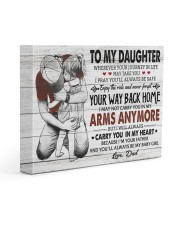 YOUR WAY BACK HOME - AMAZING GIFT FOR DAUGHTER 14x11 Gallery Wrapped Canvas Prints front