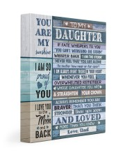 I AM SO PROUD OF YOU - LOVELY GIFT FOR DAUGHTER 11x14 Gallery Wrapped Canvas Prints front