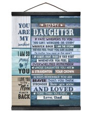 I AM SO PROUD OF YOU - LOVELY GIFT FOR DAUGHTER Hanging Canvas tile