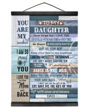 LIFE GAVE ME THE GIFT OF YOU Hanging Canvas tile