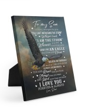 I LOVE FOREVER AND ALWAYS 8x10 Easel-Back Gallery Wrapped Canvas thumbnail
