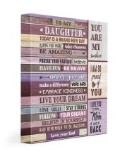 YOU ARE MY SUNSHINE - TO DAUGHTER FROM DAD 11x14 Gallery Wrapped Canvas Prints front