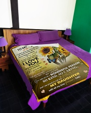 """1 DAY LEFT - GET YOURS NOW Large Fleece Blanket - 60"""" x 80"""" aos-coral-fleece-blanket-60x80-lifestyle-front-01"""