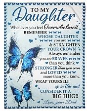 BIG HUG - SPECIAL GIFT FOR DAUGHTER Fleece Blanket tile