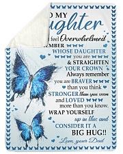 BIG HUG - SPECIAL GIFT FOR DAUGHTER Sherpa Fleece Blanket tile