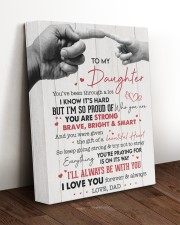 I LOVE YOU - AMAZING GIFT FOR DAUGHTER 11x14 Gallery Wrapped Canvas Prints aos-canvas-pgw-11x14-lifestyle-front-17