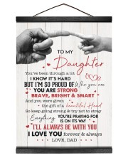 I LOVE YOU - AMAZING GIFT FOR DAUGHTER Hanging Canvas tile