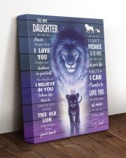 I BELIEVE IN YOU - AMAZING GIFT FOR DAUGHTER 11x14 Gallery Wrapped Canvas Prints aos-canvas-pgw-11x14-lifestyle-front-17