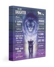 I BELIEVE IN YOU - AMAZING GIFT FOR DAUGHTER 11x14 Gallery Wrapped Canvas Prints front