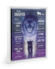 I BELIEVE IN YOU - AMAZING GIFT FOR DAUGHTER Floating Framed Canvas Prints White tile
