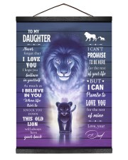 I BELIEVE IN YOU - AMAZING GIFT FOR DAUGHTER Hanging Canvas tile