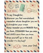 CONSIDER IT A BIG HUG - LOVELY GIFT FOR DAUGHTER 11x17 Poster front