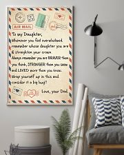CONSIDER IT A BIG HUG - LOVELY GIFT FOR DAUGHTER 11x17 Poster lifestyle-poster-1
