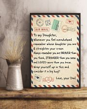 CONSIDER IT A BIG HUG - LOVELY GIFT FOR DAUGHTER 11x17 Poster lifestyle-poster-3