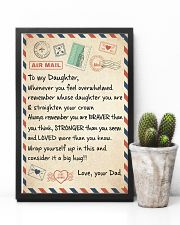 CONSIDER IT A BIG HUG - LOVELY GIFT FOR DAUGHTER 11x17 Poster lifestyle-poster-8