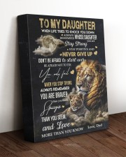 NEVER GIVE UP - AMAZING GIFT FOR DAUGHTER 11x14 Gallery Wrapped Canvas Prints aos-canvas-pgw-11x14-lifestyle-front-17