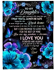"""I LOVE YOU FOREVER AND ALWAYS Large Fleece Blanket - 60"""" x 80"""" front"""