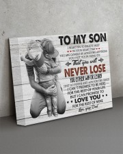 IN YOUR HEART - SPECIAL GIFT FOR SON 14x11 Gallery Wrapped Canvas Prints aos-canvas-pgw-14x11-lifestyle-front-15