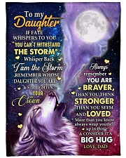 """CONSIDER IT A BIG HUG - GREAT GIFT FOR DAUGHTER Large Fleece Blanket - 60"""" x 80"""" front"""