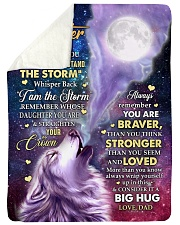 """CONSIDER IT A BIG HUG - GREAT GIFT FOR DAUGHTER Large Sherpa Fleece Blanket - 60"""" x 80"""" thumbnail"""